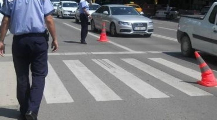 Accident în Satu Mare | Bătrân lovit de un taximetru pe o trecere pentru pietoni