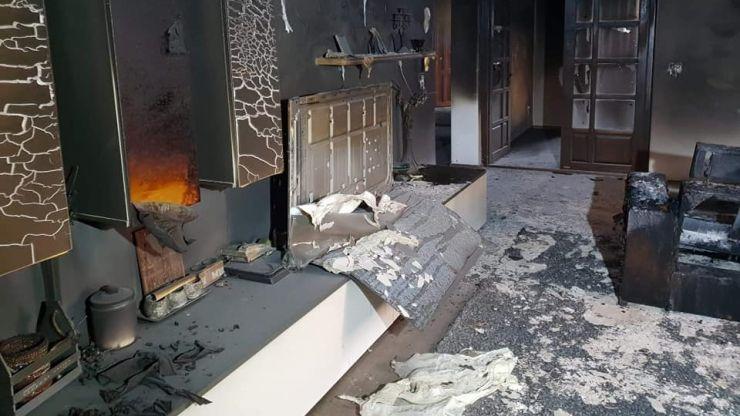 Incendiu la o casă din Satu Mare