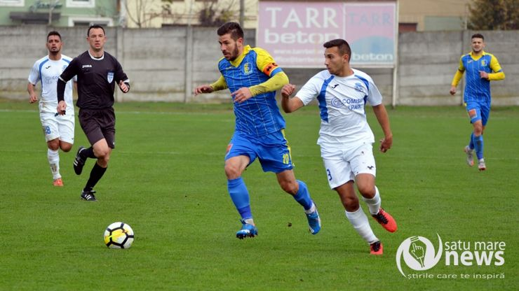 Liga 2 | Etapa 17 | Olimpia a întors scorul de la pauză și a învins Dacia Unirea Brăila