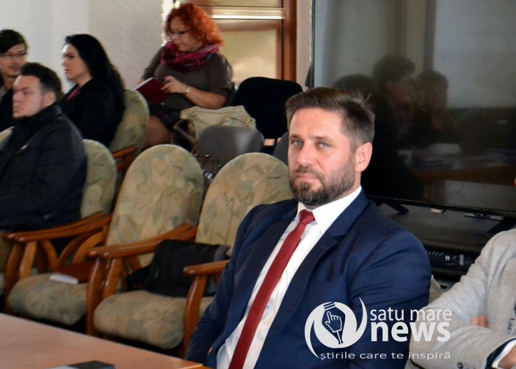 Marius Meghişan, noul director al DSP Satu Mare