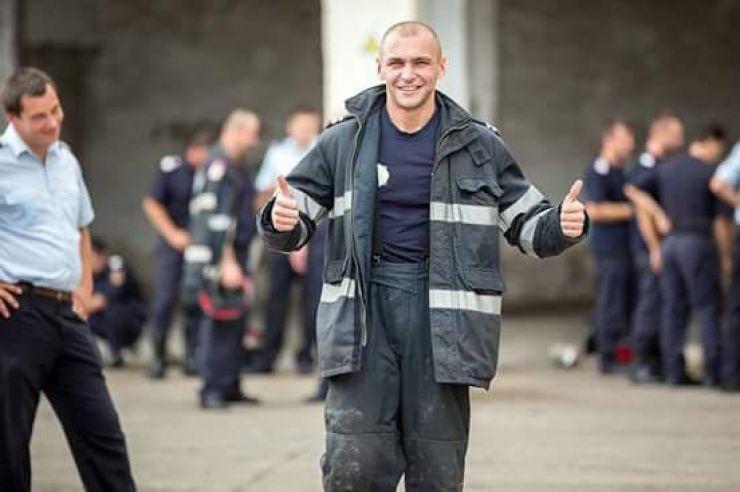 """Ministrul Carmen Dan: """"Olimpiu Moș din Satu Mare este exemplul recent care pe mine mă face mândră de pompieri!"""""""