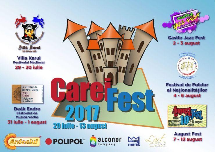 Prima ediție a festivalului Careifest debutează cu Festivalul Medieval Villa Karul