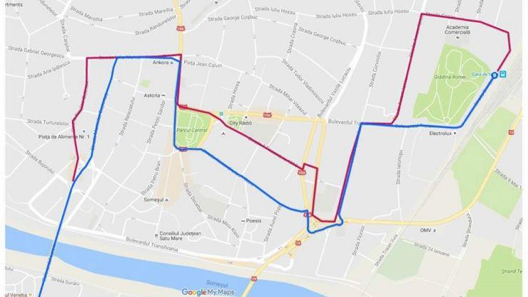 Transurban | Mâine, rute ocolitoare pentru autobuzele care circulă pe Calea Traian