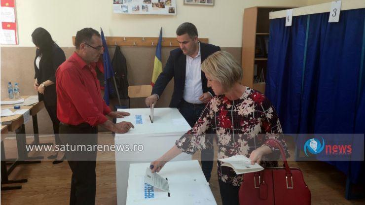 """Ministrul Apărării Naționale, Gabriel Leș, a votat """"pentru oameni care sunt capabili să lupte în Parlamentul European pentru România"""""""