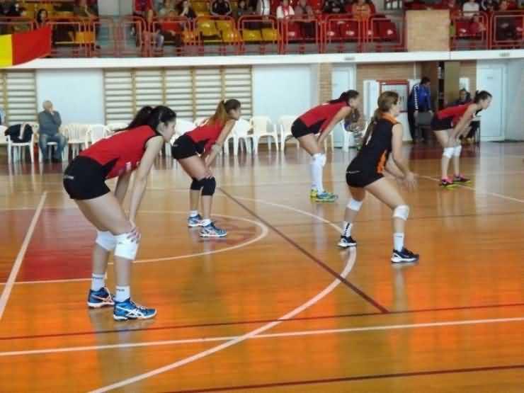 Volei: CS Alba Blaj-CSM Satu Mare 3-0