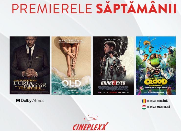 Filme în premieră din 23 iulie la Cineplexx Satu Mare