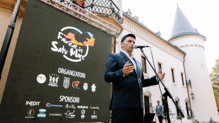"""Deputatul PNL Adrian Cozma: """"Trebuie să cumpărăm fabricat în România, fabricat în Satu Mare în fiecare zi, oricât de mărunt ar fi acel lucru"""""""