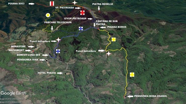 Trasee turistice noi în Munții Oaș