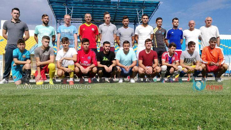 Fotbal | CSM Satu Mare a efectuat primul antrenament