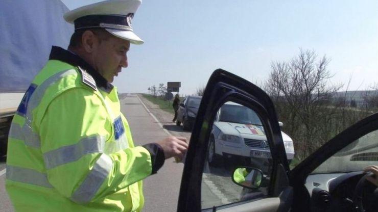 Filtre masive în județ. Șoferi amendați și lăsați fără permis
