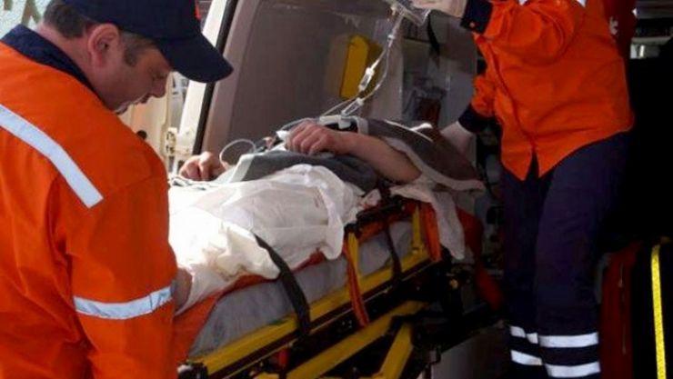 Accident în Vama. Unul dintre șoferi a părăsit locul accidentului