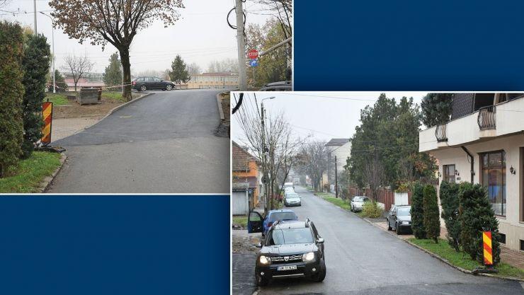 Traficul pe strada Zimbrului, cu acces pe Podul Decebal, s-a redeschis
