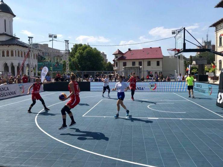 Baschetbalistele de la CSM Satu Mare, vicecampioane naționale la 3x3