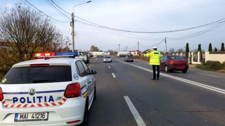 Razie a polițiștilor în Ardud