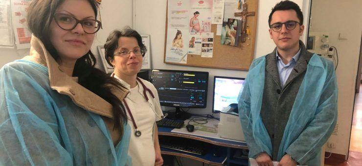 Rotaract a donat secţiei de Neonatologie un sistem performant de monitorizare a bebelușilor