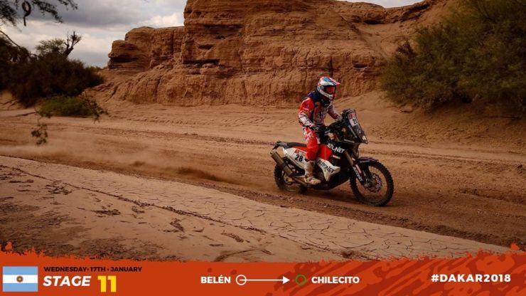 Dakar 2018 | Mani Gyenes, locul 30 şi în etapa a 11-a. Etapa 12 a fost anulată