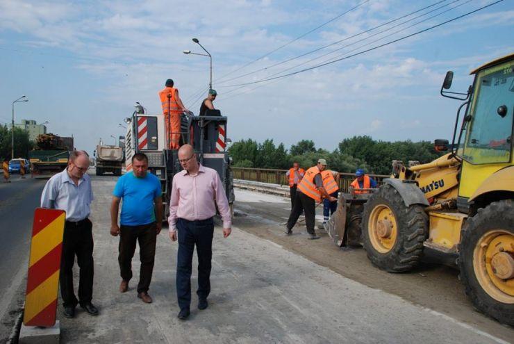 "Primarul Kereskenyi Gabor: ""Cer urgentarea lucrărilor la podul Decebal!"""