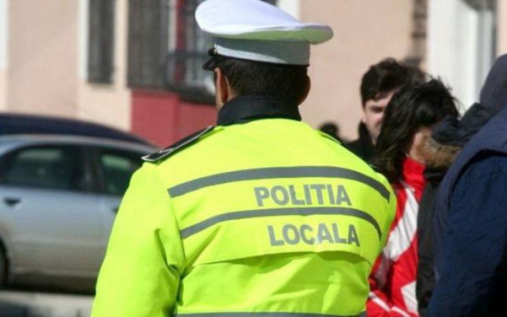 Hoți, depistați de polițiștii locali pe strada Brașov din municipiu