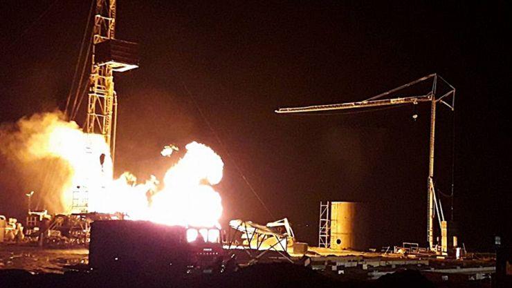 ISU, despre situația de la Moftin: Nu se acționează pentru stingerea incendiului deoarece există risc de explozie