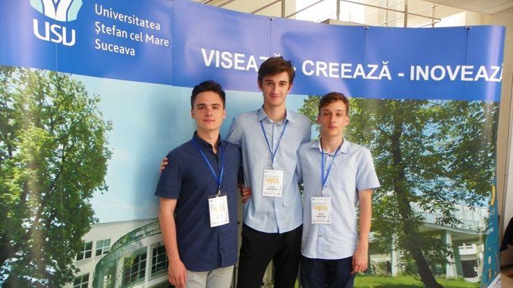 Două echipaje de elevi eminescieni, pe podium la Olimpiada de Creativitate Științifică