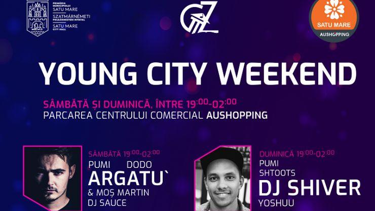 Începe Young City Weekend. Trei zile de concerte pentru tinerii sătmăreni