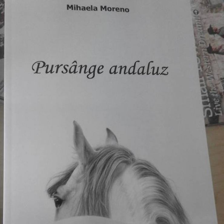 """Lansarea romanului """"Pursânge Andaluz"""", la Biblioteca Județeană"""