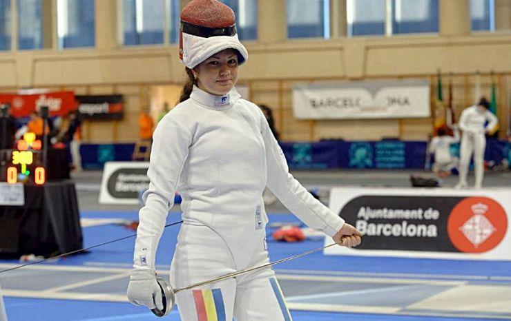 Spadă | Amalia Tătăran a câștigat Campionatul Național de tineret de la Craiova