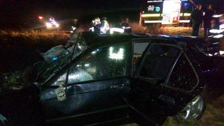 Accident mortal lângă localitatea Ady Endre. Un tânăr, de 20 de ani, a decedat pe loc
