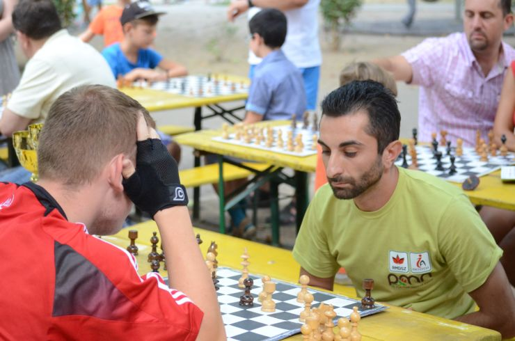 Concurs de șah în Grădina Romei