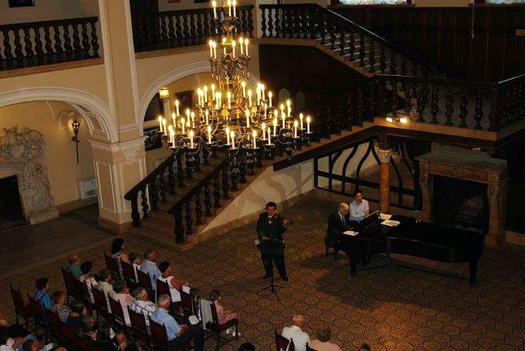 Serată muzicală de neuitat la Castelul din Carei