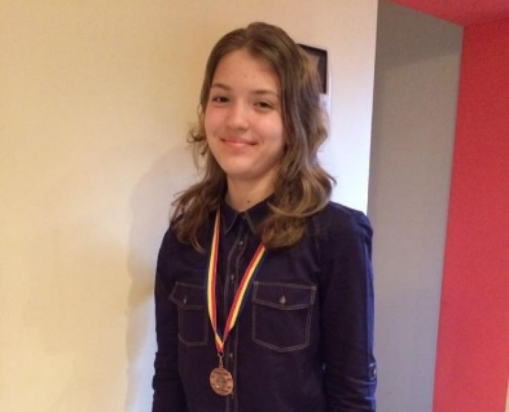 Eleva de 10 a Sătmarului, Ioana Roman, merge în America. Va reprezenta România la Conferința Liderilor Tineretului Mondial