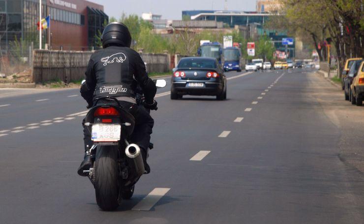 Motociclist prins cu 203 km/h între Ardud și Mădăras