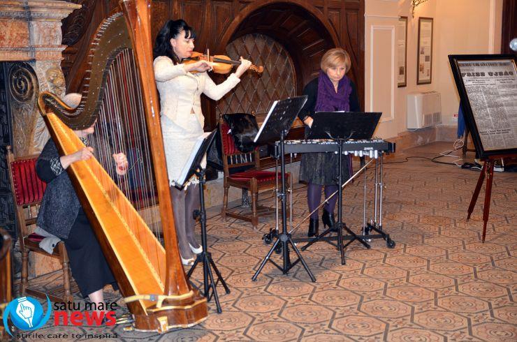 Concert cameral la Castelul din Carei
