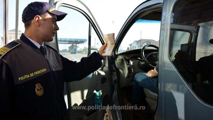 Autoturism căutat de autorităţile din Marea Britanie, depistat la P.T.F. Petea