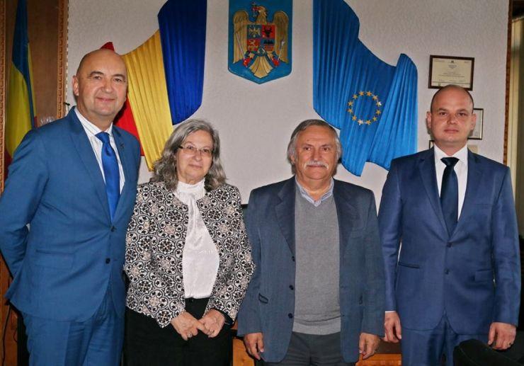 Ambasadorul Israelului, în vizită la Satu Mare