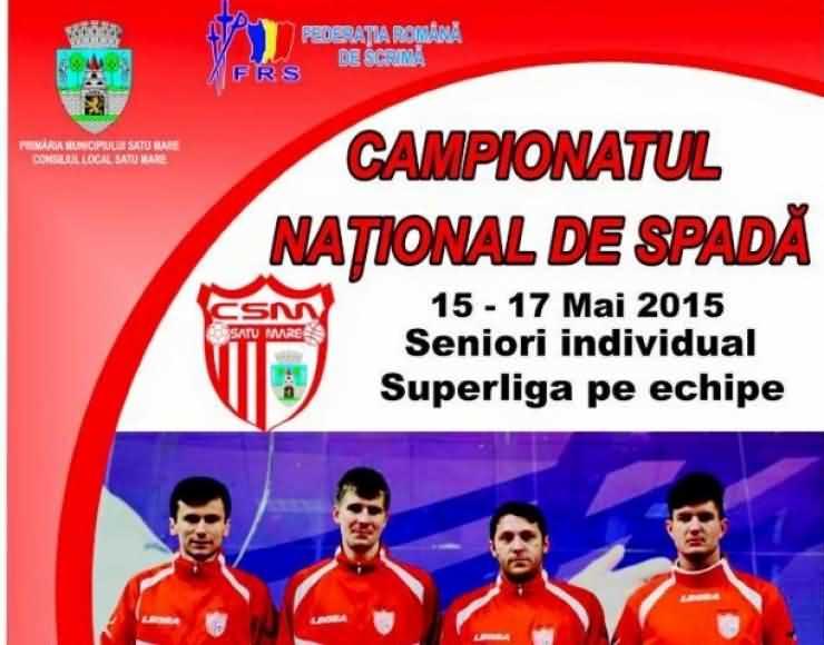 Satu Mare găzduiește Campionatul Național, Divizia A și Superliga la spadă seniori masculin
