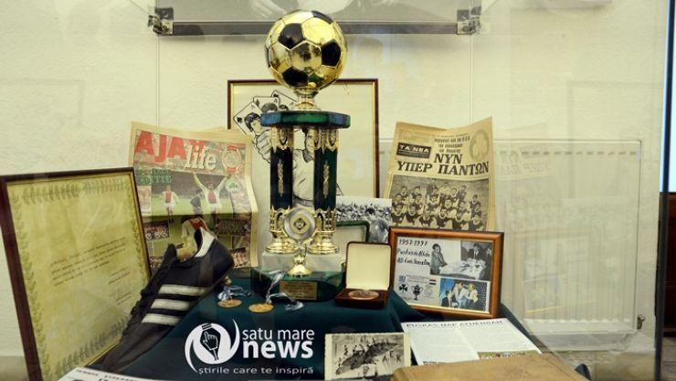 S-a deschis expoziția dedicată fotbalistului Puskás Ferenc