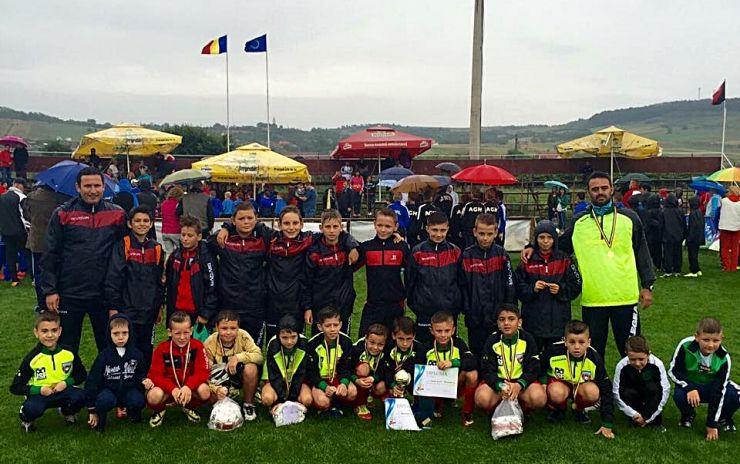 Fotbal juniori. Rezultate remarcabile pentru cluburile sătmărene la Cupa Viitorul Zalău