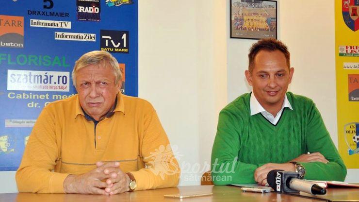 Gabi Both, președinte de onoare al Clubului Olimpia Satu Mare