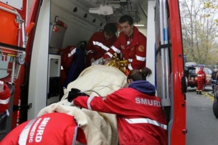 Două gemene, în vârstă de 4 ani, rănite într-un accident rutier