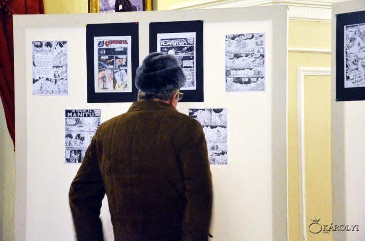Lansare de album şi expoziţie de benzi desenate la Castelul Károlyi din Carei