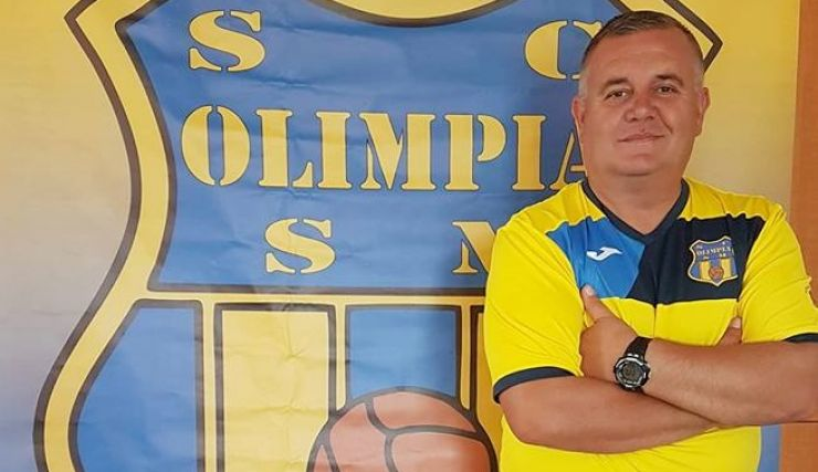 Nelu Donca, antrenorul echipei Voluntarilor Olimpiști