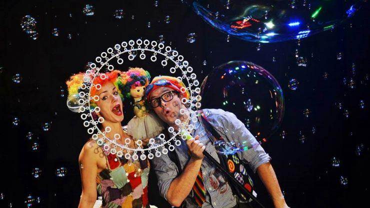 Bubble Show la Satu Mare. Spectacol cu baloane de săpun și multe surprize