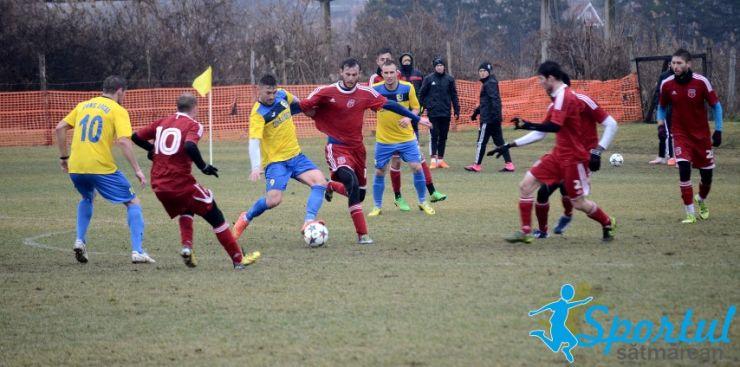 Olimpia a câștigat amicalul contra echipei de Liga a III-a, Luceafărul Oradea