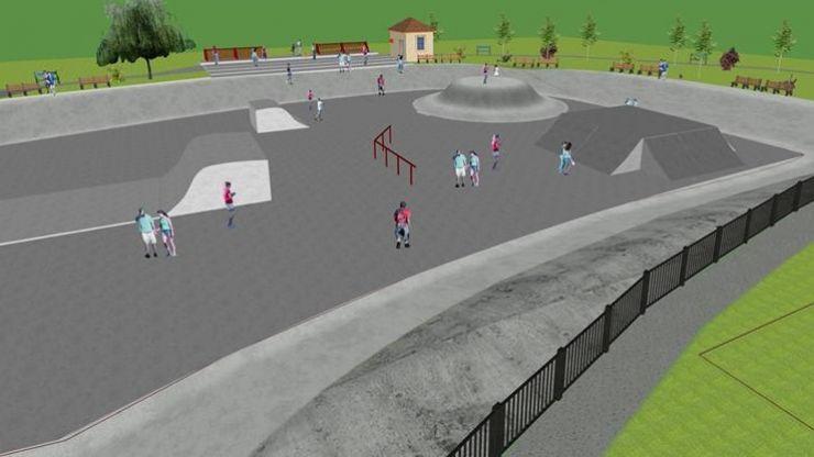 Skatepark amenajat în Parcul UFO din municipiu (foto)