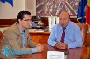 Primarul Coica s-a întâlnit cu Burleanu și Chivorchian