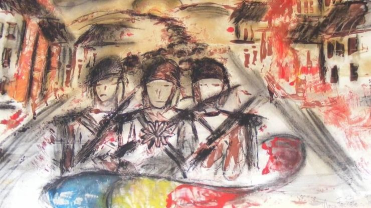 De 25 Octombrie, concurs de desene, la Carei