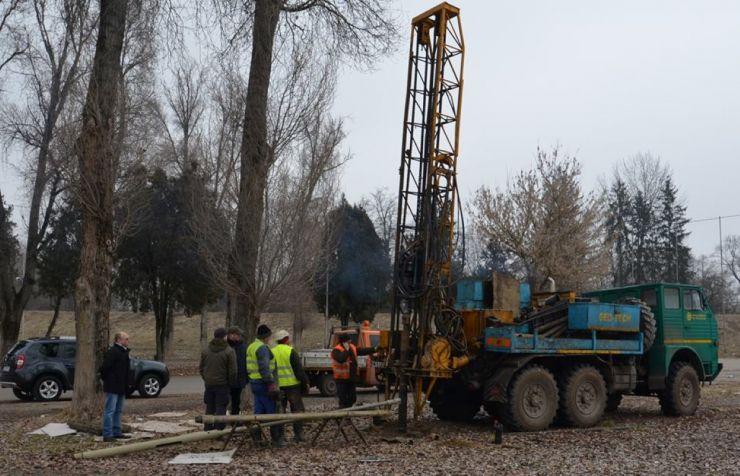 Au început forările pentru studiul geotehnic al celui de-al treilea pod