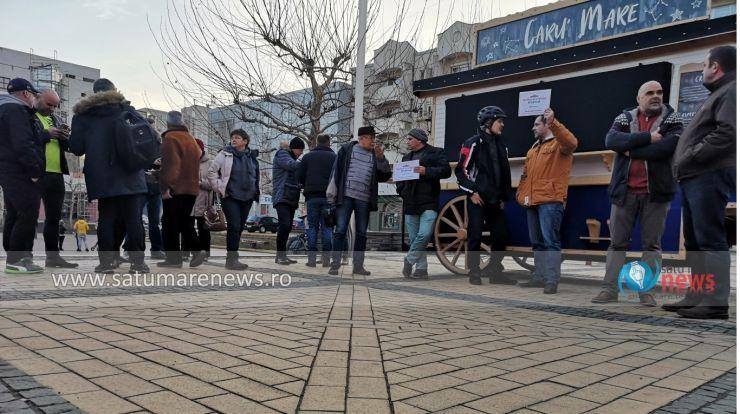 Protest de susținere a Laurei Codruța Kovesi, în centrul orașului