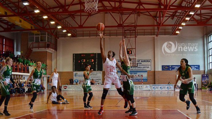Baschet | CSM Satu Mare a învins Sepsi în meciul trei al finalei Ligii Naționale